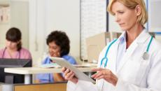 Doc with mobile device