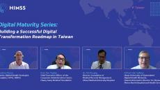 Screenshot of the Digital Maturity Series webinar participants.