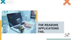 The Reasons Applications Fail