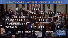GOP passes healthcare bill
