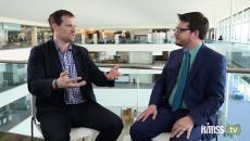 Adam Culbertson talking at Dev4Health about APIs