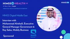 Mohammad Alrehaili, executive general manager of government & key sales at Mobily