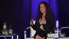 Anahi Santiago, CISO and Christiana Care Health System talking at Healthcare Security Forum in San Francisco