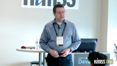 Andrew Crabtree, Google Cloud Customer Engineer at Dev4Health conference
