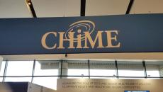 CHIME booth at HIMSS18
