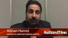 Adnan Hamid, Assistant CIO at Henry Mayo Newhall Hospital