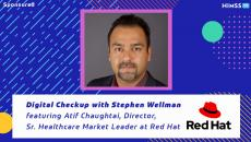 Red Hat's Healthcare Market Leader Atif Chaughtai