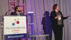 himss precision medicine summit speakers talking about community hospitals