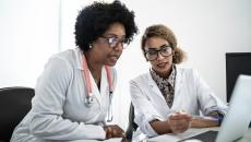 Two clinicians report data