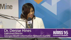 Denise Hines on HIMSS Radio at HIMSS16