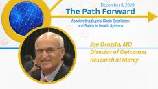Dr. Joe Drozda, director of outcomes research at Mercy