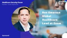 Ron Emerson, global healthcare lead at Zoom