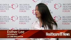 Esther Lee Big Data & Healthcare Analytics Forum
