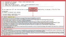 GandCrab ransomware variant targeting legacy systems
