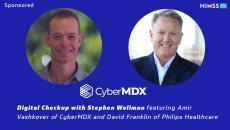 CyberMDX's Amir Vashkover and Philips Healthcare's David Franklin