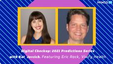 Vivify CEO Eric Rock and Kat Jercich
