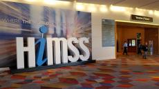 HIMSS Sign