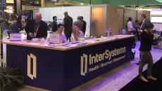 intersystems EHR booth at HIMSS