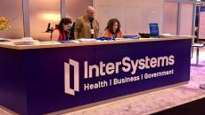 Intersystems booth at HIMSS17.