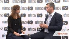 James Norman form DellEMC talks to himss tv