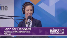 Jennifer Dennard on HIMSS Radio at HIMSS16