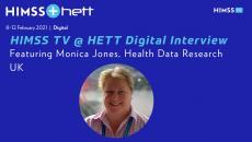 Health Data Research UK Chief Data Officer Monica Jones