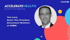 Tom Leary, senior vice president of government relations at HIMSS