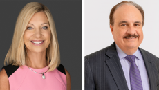 Karen Lynch and Larry Merlo