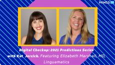 Dr. Elizabeth Marshall, director of clinical analytics at Linguamatics