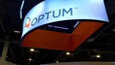 Optum booth at HIMSS17.