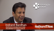 Indranil Bardhan Pop Health Forum