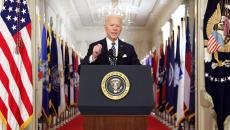President Biden addresses the American people. (Photo by Alex Wong/Getty Images)