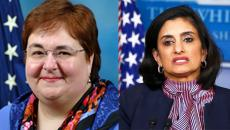 Elizabeth Richter and Seema Verma.