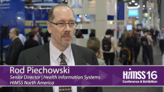 Rod Piechowski at HIMSS16