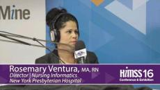 Rosemary Ventura on HIMSS Radio at HIMSS16