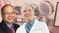Podcast guests Dr. John Sedor and Dr. Prabir Roy-Chaudhury