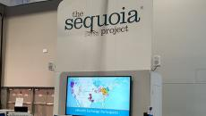sequoia project sign at himss18