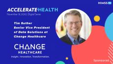 Tim Suther, SVP of data solutions at Change Healthcare