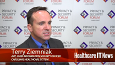 Carolinas HealthCare CISO Terry Ziemniak