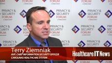 Carolinas HealthCare CISO Terry Ziemniak