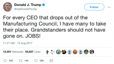 CEOs quit Trump manufacturing council