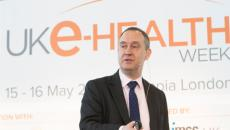 Matthew Swindells speaks at UK e-Health Week.