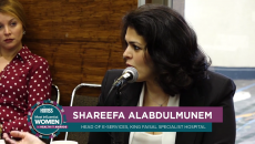 Shareefa Alabdulmunem, Head of eServices at King Faisal Specialist Hospital