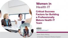 Healthcare focused IT departments