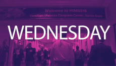 HIMSS16: Wednesday Highlights