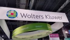 Wolters Kluwer booth at HIMSS18