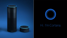 Alexa and Cortana communicate