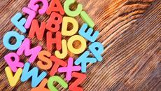 magnetic alphabet