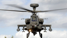 Army Air Corps Apache helicopter
