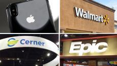 apple, walmart, cerner and epic EHR moves in June